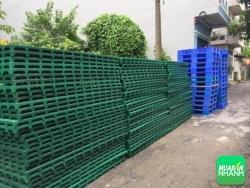 Đại lý mua bán pallet nhựa lót sàn tại Bắc Giang